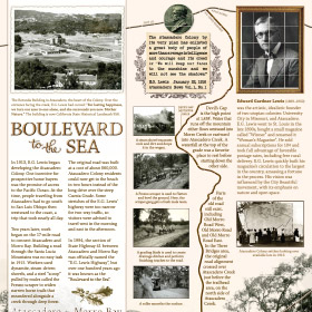 Boulevard to the Sea - Trailhead Kiosk